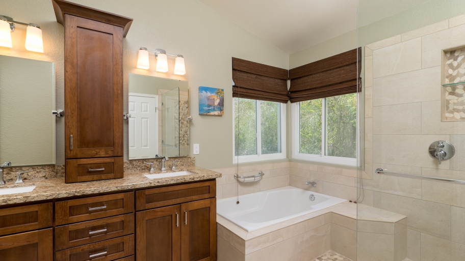bathroom remodel - you can't go wrong - hyde