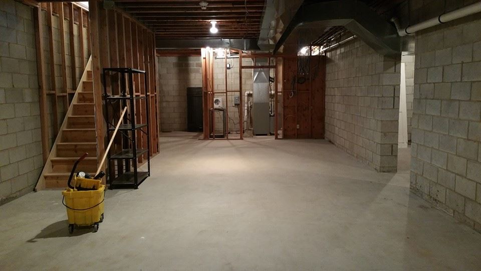 How to detect a moldy basement and what to do hyde for Best way to build a basement